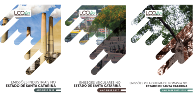 Inventários de Emissões Atmosféricas do Estado de Santa Catarina – Emissões Industriais, veiculares e queima de biomassa